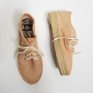 DV Roxie Canvas Lace Up Espadrille Sneakers